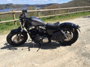 Sacoches Myleatherbikes Harley Sportster Forty Eight (5)